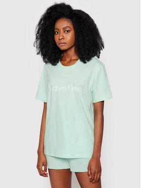 Calvin Klein Underwear Calvin Klein Underwear T-Shirt 000QS6105E Zielony Regular Fit
