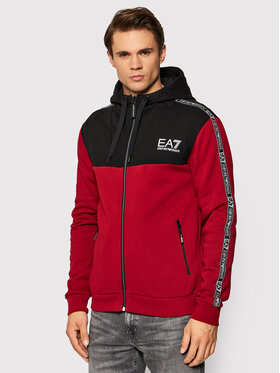 EA7 Emporio Armani EA7 Emporio Armani Bluza 6KPMB2 PJ07Z 1459 Czerwony Regular Fit