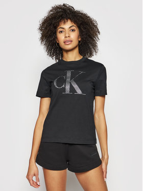 Calvin Klein Jeans Calvin Klein Jeans T-Shirt J20J215605 Černá Regular Fit