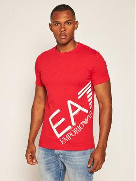 EA7 Emporio Armani EA7 Emporio Armani T-Shirt 6HPT07 PJA2Z 1451 Červená Regular Fit