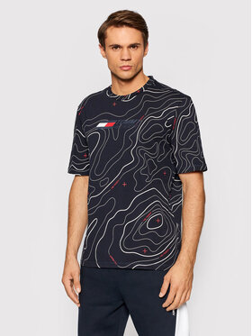 Tommy Hilfiger Tommy Hilfiger T-Shirt Fashion MW0MW18933 Σκούρο μπλε Regular Fit
