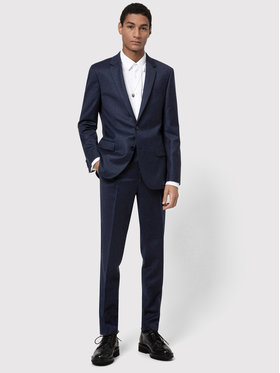 Hugo Hugo Costume Henry/Getlin 204 50446682 Bleu marine Slim Fit