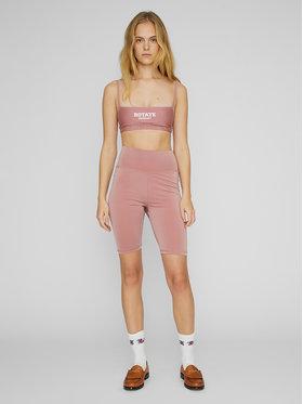 ROTATE ROTATE Sportske kratke hlače Kamelia RT498 Ružičasta Slim Fit