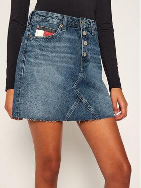 Tommy Jeans Tommy Jeans Farmer szoknya Heritage DW0DW08415 Kék Regular Fit