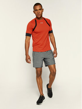 Under Armour Under Armour T-shirt technique HexDelta 1317492 Rouge Regular Fit