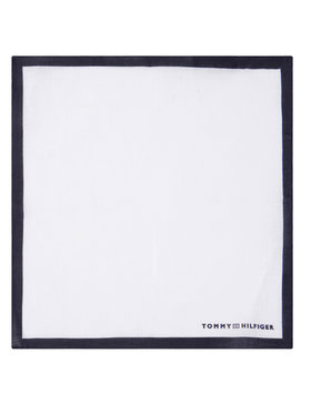 Tommy Hilfiger Tailored Tommy Hilfiger Tailored Pochette Solid Square TT0TT06898 Bianco