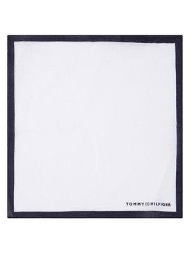Tommy Hilfiger Tailored Tommy Hilfiger Tailored Poszetka Solid Square TT0TT06898 Biały