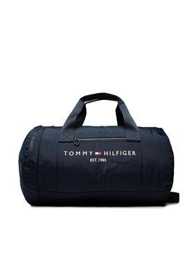 Tommy Hilfiger Tommy Hilfiger Borsa Th Established Duffle AM0AM08019 Blu scuro