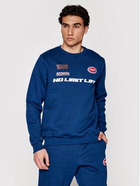 PROSTO. PROSTO. Sweatshirt KLASYK Drift 1012 Bleu marine Regular Fit