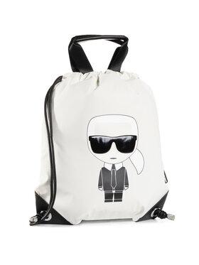KARL LAGERFELD KARL LAGERFELD Plecak 205W3015 Biały