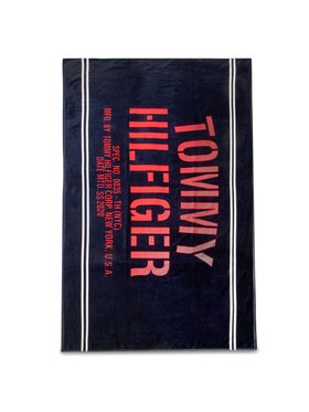 TOMMY HILFIGER TOMMY HILFIGER Ręcznik Towel UU0UU00036 Granatowy