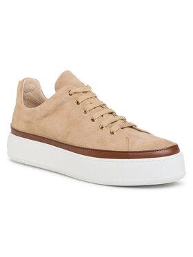 Max Mara Max Mara Sneakersy Tasmin 47661907600 Beżowy
