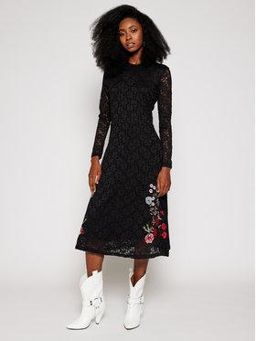 Desigual Desigual Kasdieninė suknelė Venecia 20WWVW77 Juoda Regular Fit
