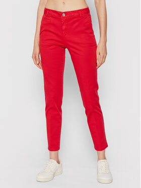 United Colors Of Benetton United Colors Of Benetton Pantaloni chino 4GD7558S3 Roșu Slim Fit