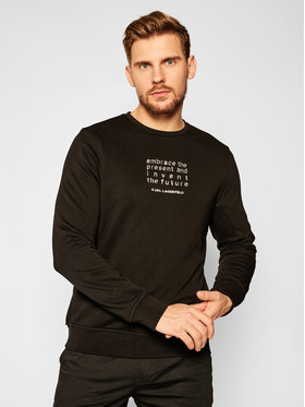 KARL LAGERFELD KARL LAGERFELD Sweatshirt Sweat 705011 502900 Schwarz Regular Fit