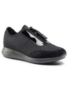Geox Geox Sneakersy D Ophira A D021CA 0EW22 C9999 Černá