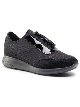 Geox Geox Sneakersy D Ophira A D021CA 0EW22 C9999 Čierna