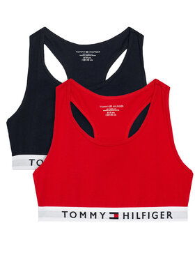 Tommy Hilfiger Tommy Hilfiger Komplektas: 2 liemenėlės UG0UG00381 Spalvota