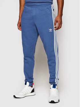 adidas adidas Παντελόνι φόρμας adicolor Classics 3-Stripes GN3528 Μπλε Slim Fit