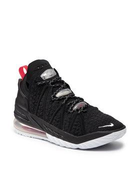 Nike Nike Boty Lebron XVIII CQ9283 001 Černá