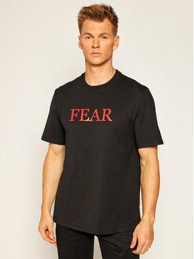 MSGM MSGM T-shirt DAVID AUGUSTO 2940MM213 207598 Noir Regular Fit