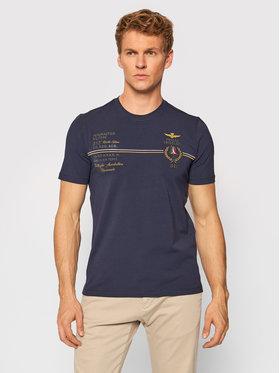 Aeronautica Militare Aeronautica Militare T-Shirt 212TS1892J469 Granatowy Regular FIt