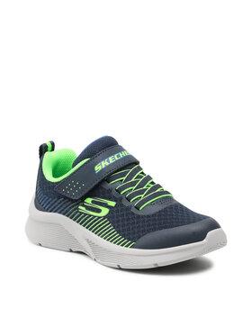 Skechers Skechers Sneakersy Gorza 97535L/NVLM Granatowy