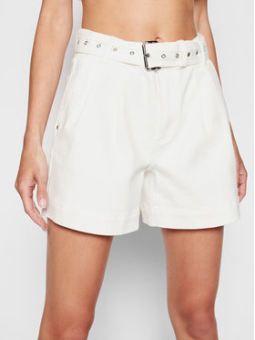 MICHAEL Michael Kors MICHAEL Michael Kors Jeansshorts MS19008BUG Weiß Relaxed Fit