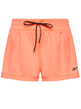 Reebok Reebok Pantaloncini sportivi Workout Ready GI6870 Arancione Regular Fit