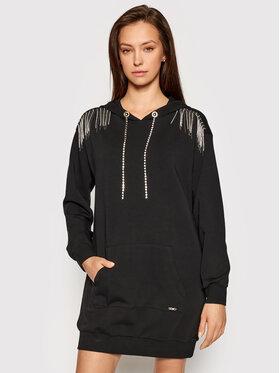 Liu Jo Sport Liu Jo Sport Džemper haljina TA1081 F0090 Crna Regular Fit