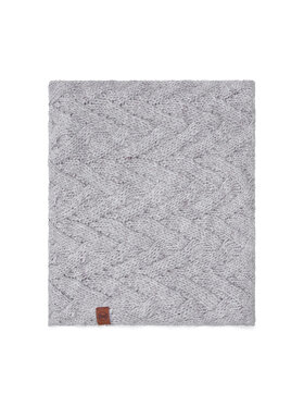 Buff Buff Loop-Schal Knitted & Fleece Neckwarmer 123518.014.10.00 Grau