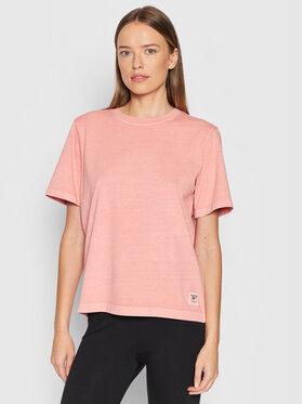 Reebok Reebok T-Shirt Natural Dye H11210 Orange Regular Fit