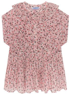 Mayoral Mayoral Hétköznapi ruha 4975 Rózsaszín Regular Fit