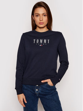 Tommy Jeans Tommy Jeans Felpa Tjw Essential Logo DW0DW09918 Blu scuro Regular Fit