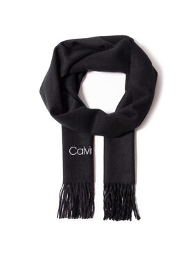 Calvin Klein Calvin Klein Šál Woven Scarf K60K607772 Černá