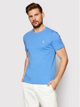 Polo Ralph Lauren Polo Ralph Lauren T-Shirt Ssl 710671438057 Niebieski Slim Fit