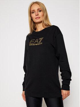 EA7 Emporio Armani EA7 Emporio Armani Sweatshirt 6HTM26 TJ9FZ 1200 Schwarz Regular Fit