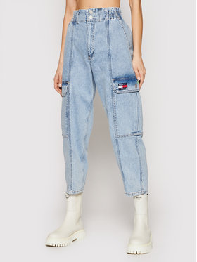 Tommy Jeans Tommy Jeans Τζιν Cargo Jean DW0DW09882 Μπλε Relaxed Fit