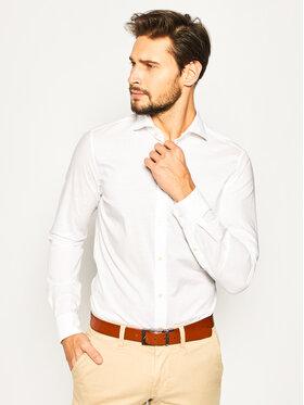 Strellson Strellson Marškiniai Sereno 30020157 Balta Slim Fit