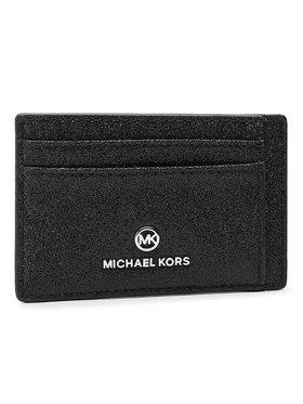 MICHAEL Michael Kors MICHAEL Michael Kors Калъф за кредитни карти Jet Set Charm 34H0ST9D1K Черен