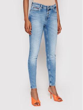 Tommy Jeans Tommy Jeans Jeansy Nora DW0DW09467 Niebieski Skinny Fit
