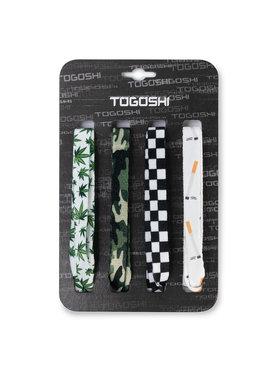 Togoshi Togoshi Set șireturi pentru pantofi TG-LACES-120-4-MEN-008 Verde