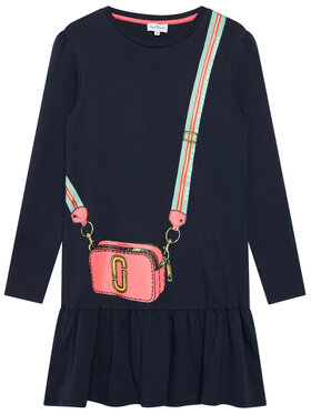 Little Marc Jacobs Little Marc Jacobs Každodenní šaty W12379 M Tmavomodrá Regular Fit
