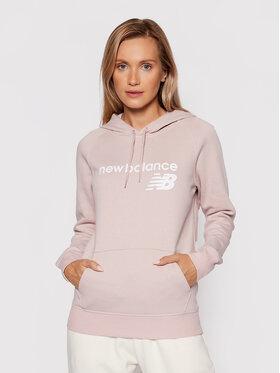 New Balance New Balance Sweatshirt Classic Core Fleece WT03810 Rosa Relaxed Fit