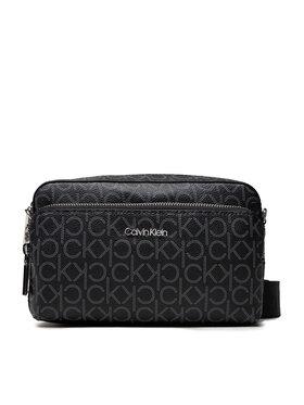 Calvin Klein Calvin Klein Дамска чанта Ck Must Camera Bag W/Pkt Lg Mono K60K608537 Черен