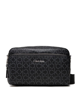Calvin Klein Calvin Klein Táska Ck Must Camera Bag W/Pkt Lg Mono K60K608537 Fekete