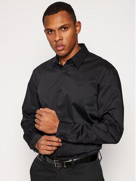 Guess Guess Košile Stretch M1RH25 W7ZK1 Černá Regular Fit