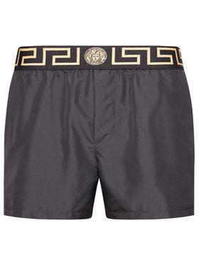 Versace Versace Σορτς κολύμβησης Greca Border ABU01022 Μαύρο Regular Fit