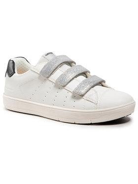Geox Geox Sneakersy J Silenex G. B J15DWB 000BC C1000 S Bílá