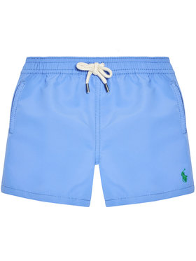 Polo Ralph Lauren Polo Ralph Lauren Pantaloni scurți pentru înot Traveler Sho 320785582009 Albastru Regular Fit